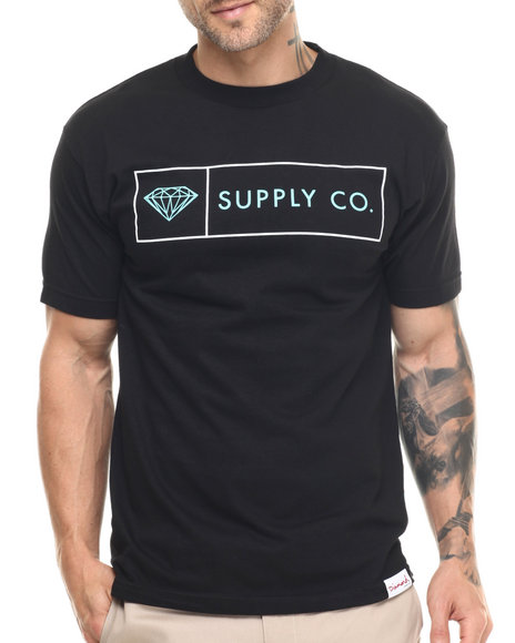 Diamond Supply Co - Men Black Boxed In Tee