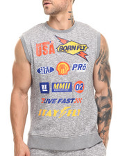 Shirts - Kahne Sleeveless Crew