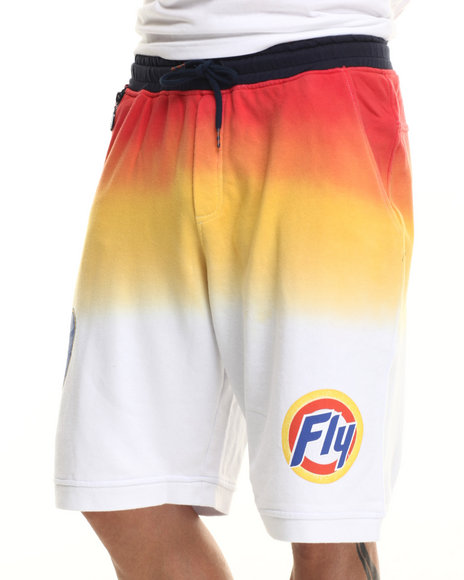 Born Fly - Men Orange Ambrose Shorts
