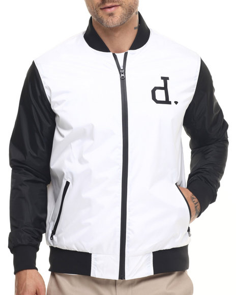 Diamond Supply Co - Men Black Un Polo Bomber Jacket