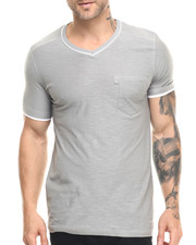 Buyers Picks - Double Layer V-neck s/s tee