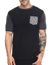 Buyers Picks - Contrast Paisley E-longated s/s tee