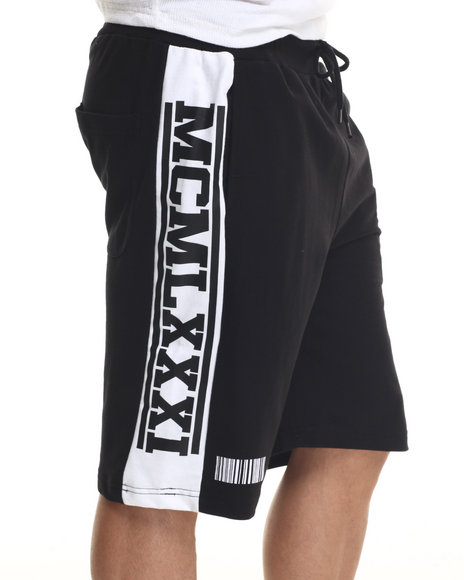 Buyers Picks - Men Black Mcmlxxx Drawstring Shorts