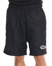 Shorts - SUNSET WALLFLOWER RED SPORT SHORTS