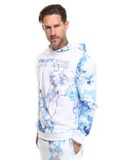 Versace Jeans - Logo Splash Print Hoodie