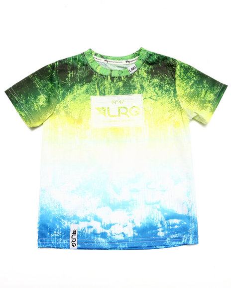 Lrg - Boys Green Roots People Tee (4-7) - $10.99