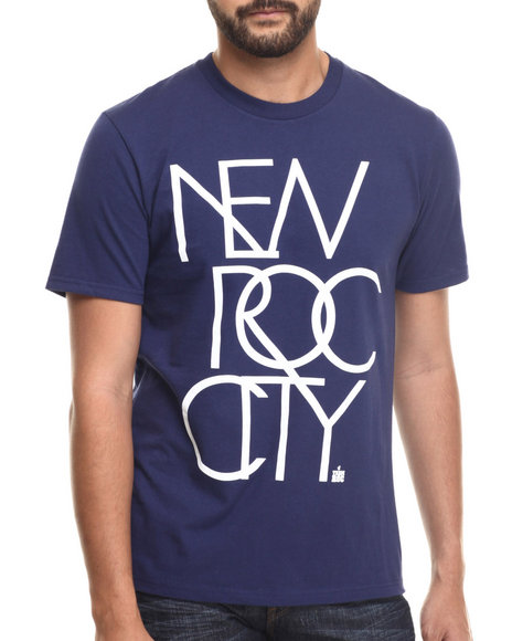 Rocawear - Men Navy New Roc City Tee