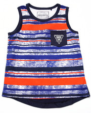 Boys - STRIPED TANK (4-7)