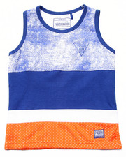 Boys - CUT & SEW MESH TANK (4-7)