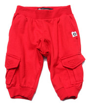 Bottoms - CARGO JOGGER SHORTS (2T-4T)