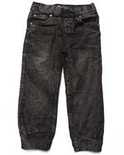 Boys - ACID WASH DENIM JOGGERS (4-7)