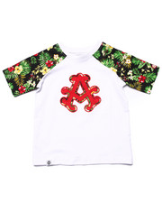 Boys - TROPICAL RAGLAN TEE (4-7)