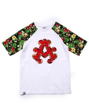 Boys - TROPICAL RAGLAN TEE (8-20)
