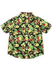 Tops - S/S TROPICAL PRINT WOVEN (4-7)