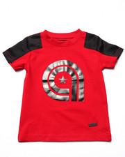 T-Shirts - NYLON YOKE TEE (2T-4T)