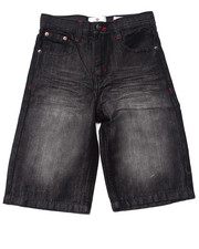 Boys - EMBROIDERED POCKET CUFF SHORTS (8-20)