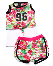 Sizes 4-6x - Kids - 2 PC TROPICAL SHORTS SET (4-6X)