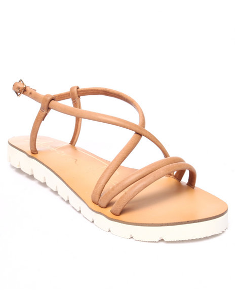 Ur-ID 217883 Fashion Lab - Women Tan Delila Sandal