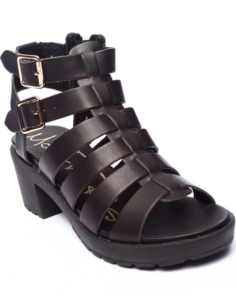 Fashion Lab - Women Black Rita Strappy Sandal