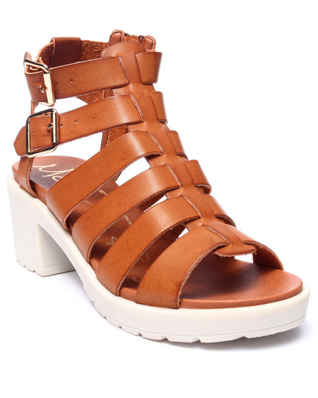 Fashion Lab - Women Tan Rita Strappy Sandal