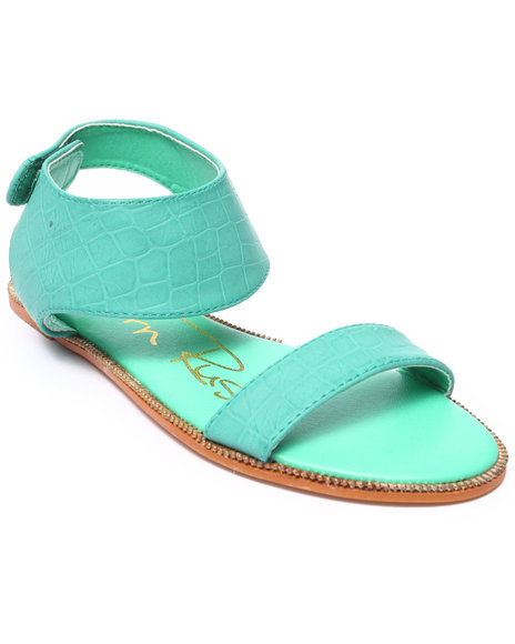 Fashion Lab - Women Green Lucky Sandal