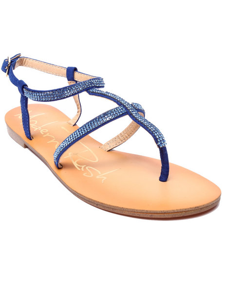 Fashion Lab - Women Blue Jannette Sandal