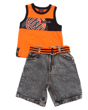 Sets - 2 PC TANK & SHORTS SET (2T-4T)