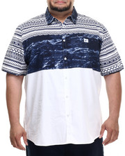 Men - Ethnic Print S/S Button-Down (B&T)