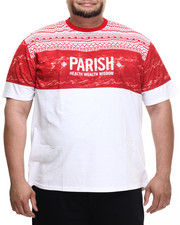 Men - Ethnic Print T-Shirt (B&T)