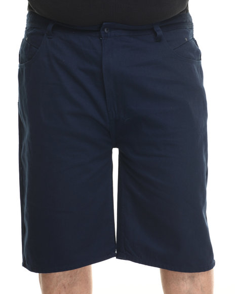 Parish - Men Navy Solid Denim Short (B&T)