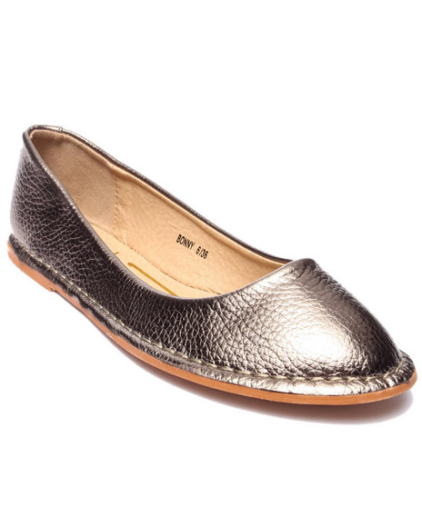 Fashion Lab - Women Rose Gold Bonny Flat