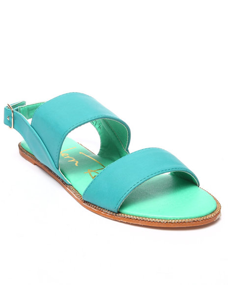 Fashion Lab - Women Turquoise Kelly Sandal