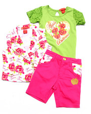 Sets - 3 PC VEST & BERMUDA SET (2T-4T)