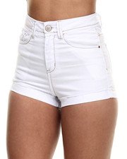 Fashion Lab - Roll Cuff High Waist Short