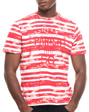 Men - Printed Stripe T-Shirt