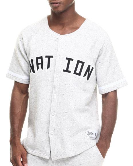 Ur-ID 217914 Parish - Men Grey Baseball T-Shirt