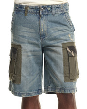 Men - Range One Denim Cargo Shorts