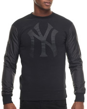 Pullover Sweatshirts - New York Yankees All Black Premium Crewneck sweatshirt