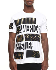 T-Shirts - American Hustle Studded T-Shirt