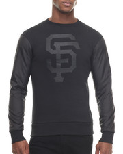 Pullover Sweatshirts - San Francisco Giants All Black Premium Crewneck sweatshirt