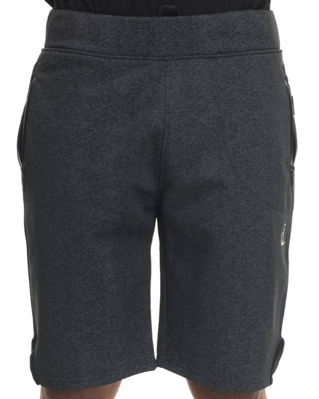 Diamond Supply Co - Men Black Un Tech Sweatshorts