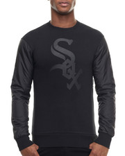 Pullover Sweatshirts - Chicago White Soxs All Black Premium Crewneck sweatshirt