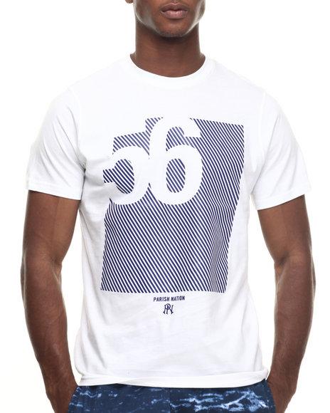 Ur-ID 218002 Parish - Men Navy,White Graphic T-Shirt