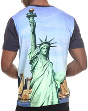 NBA, MLB, NFL Gear - New York Yankees Metro Sublimation Premium s/s tee