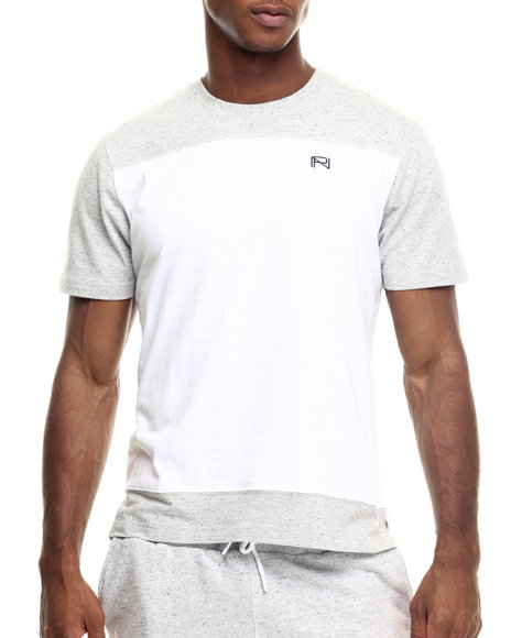 Grey,White T-Shirts