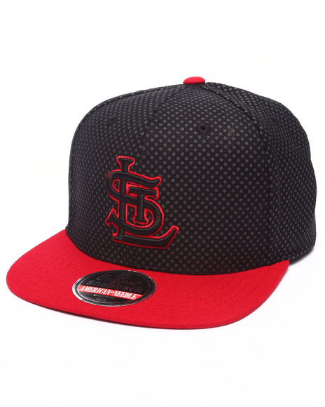Ur-ID 223208 American Needle - Men Black St. Louis Star Child Snapback Hat