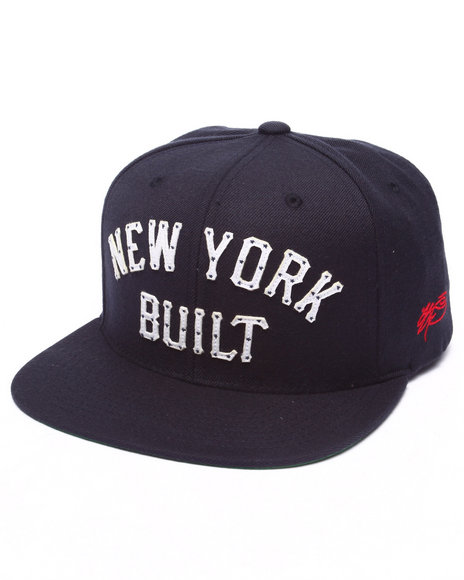 Ur-ID 223213 SSUR - Men Navy Ssur New York Built Snapback Hat