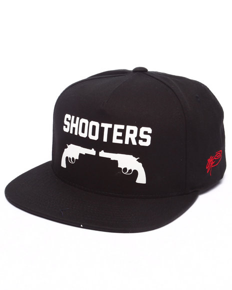 Ur-ID 223214 SSUR - Men Black Ssur Shooters Snapback Hat