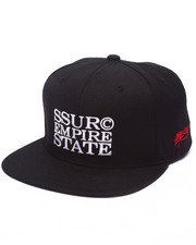 SSUR - SSUR EMPIRE STATE LUX Snapback Hat