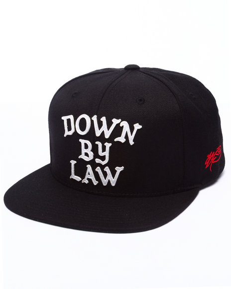 Ur-ID 223216 SSUR - Men Black Down By Law Snapback Hat